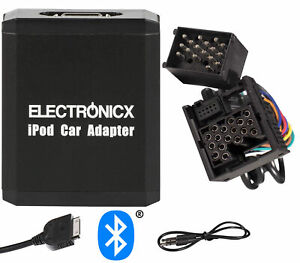 Adapter Aux Bluetooth IPHONE IPAD Ipod BMW Mini round Pin