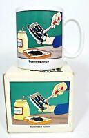"OZ - The Far Side by Gary Larson ""Business Lunch"" Coffee Mug"