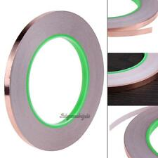33m 6mm Double Side Conductive Shield Copper Foil Tape for PDA PDP Stained Glass