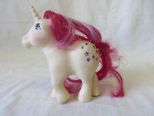 My Little Pony Unicorn Moon Dancer 1983 Hasbro White Body Pink Hair #6024