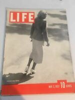 LIFE MAGAZINE MAY 10, 1937 HARLOW IN HOLLYWOOD SHIRLEY TEMPLE CLARK GABLE WWII