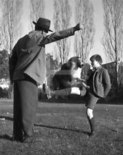 RODDY MCDOWALL LASSIE 1943 CANDID 11X14 DBW by JOHN FLOREA Photo  IM549
