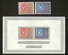Norway Sc# 584, 585, 585a, Lot of 2 Stamps and a Souvenir Sheet