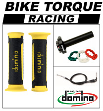 1000 DB6  Domino XM2 Quick Action Throttle Kit Black Yellow TUR Grips