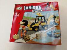 Lego 4 juniors 10666 Bagger Baustelle Neuware Karton defekt