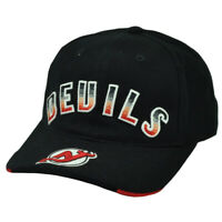 NHL American Needle New Jersey Devils Black Red  Hat Cap Adjustable Sport