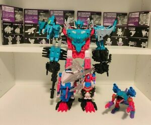 Transformers King Poseidon Takara Tomy GENERATION SELECTS - All 6 Seacons