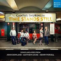 TIME STANDS STILL - SONGS AND AYRES FROM DOWLAND - CANTUS THURINGIA   CD NEW