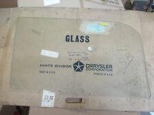 Mopar NOS 1963-66 Plymouth Valiant Dodge Dart 2 Door Post Clear DR Glass 2254229