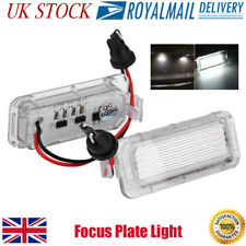 2x LED Licence Number Plate Light Ford Fiesta Focus C-Max Kuga Mondeo Galaxy MK4