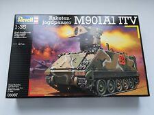 KIT DI MONTAGGIO REVELL 1/35 03087 RAKETEN JAGDPANZER M901A1 ITV MAI APERTO! NEW