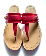 efa01db2629be Coach Women Caterine Patent Pink and Leather Ellegant Sandals Sz 9.5B