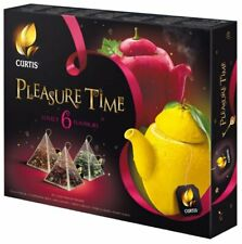 Curtis Pleasure Time Tea Collection 6 Flavors Gift Set New Import Variety