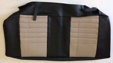 Classic Mini Rear Seat Cushion Cover - Stone Beige/Black/Monaco - HPA105000REO