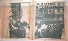 Sciopero a Londra Pattini di salvataggio Torri di San Gimignano Incendio Napoli