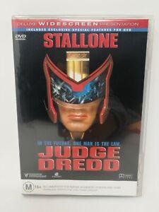 Judge Dredd - Sylvester Stallone - Rare Region 4 DVD