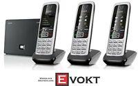Siemens Gigaset DECT C430A IP TRIO Cordless Internet Phone Black Genuine NEW