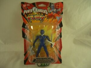 Power Rangers Jungle Fury Sound Jaguar Blue Ranger