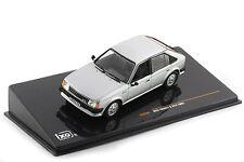 OPEL KADETT D GT/E 1983 SILVER IXO CLC268 1/43 SILBER GT-E ARGENTE ARGENT LHD