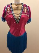 Ice skating dress Competition Figure Skating Baton Twirling Size M Women