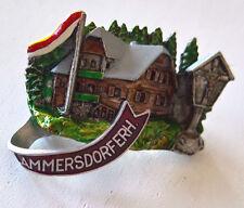 Anstecknadel Wanderbrosche Hutschmuck Souvenir Ammersdorfer Hütte vintage