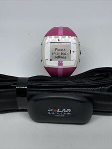 Polar FT4 Fitness Training Watch &Heart Rate Monitor Strap - Pink w/ Silver Face