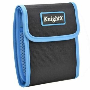 KnightX 3 Pocket Lens Filter Case Pouch Wallet Bag for up to 95mm or 100X100mm