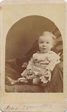 c1870-1879 CDV Photo Louisville, KY Hidden Mother, Sweet Baby, Sepia
