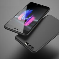 For Huawei Honor 10 Case Slim Silicone Ultra Soft Gel & Glass Screen Protector