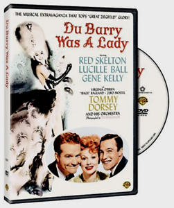DU BARRY WAS A LADY 1943 DVD Technicolor Lucille Ball Gene Kelly Red Skelton R1