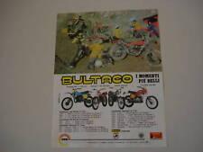 advertising Pubblicità 1978 BULTACO ALPINA/FRONTERA ..