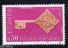 1 FRANCOBOLLO FRANCIA EUROPA CEPT LILLA 1968 usato