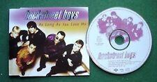 Backstreet Boys As Long As You Love Me CD Single