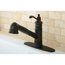 Templeton Oil Rubbed Bronze Pullout Kitchen Faucet