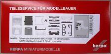 Herpa 083720 Mercedes Actros Streamspace 2.3 Fahrerhaus mit Windleitbleche 2xSt.
