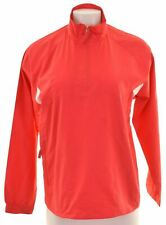 NIKE Womens Tracksuit Top Size 8 Medium Pink Polyester  CP16