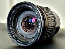 Canon EF-S 17-55mm F2.8 Image Stabilizer USM Zoom Lens