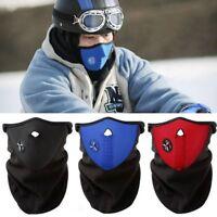 Motorcycle Bike Cycling Winter Half Face Mask Skull Ski Snow Headwear Neoprene