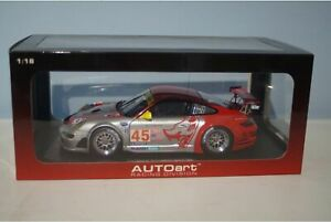 Autoart Porsche 911 (997) GT3 RSR ALMS 2007 1:18 Scale 80788