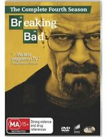 BREAKING BAD TV Series: SEASON 4 ( Regions 2,4) 4 DvD set (New & Sealed)