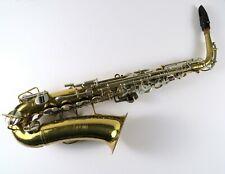 1965-70 Buescher Aristocrat Series IV Alto Saxophone Serial # 511570 with Case