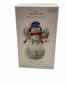 Hallmark Keepsake Ornament Louie D. Lightly Snowtop Lodge Series 2008