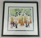 Rie Munoz Print Signed And Numbered 407/950 Boules in the Square France Boccee