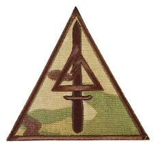 Delta Force Call of Duty COD multicam embroidered US Army hook-and-loop patch