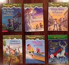 Lot Of 6 Magic Tree House Books. Very/Good Condition. Incl. Christmas in Camelot