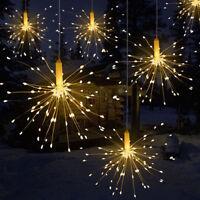 Guirnalda led alambre de cobre Fiesta Boda Hada cadena de luces Fairy Light Luz