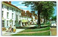 Postcard Tenterden Ashford Kent High Street looking east