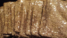 10 December 2018 Ipsy Gold Sequins Cosmetic Makeup Bags ONLY NO CONTENTS