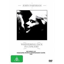 JOHN FARNHAM WHISPERING JACK IN CONCERT DVD REGION 0 PAL 5.1 NEW