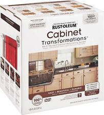 NEW RUSTOLEUM 258109 TRANSFORMATIONS LIGHT TINT CABINET REFINISHING KIT 7448962